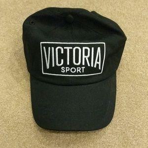 New Victoria Secret sport black baseball cap